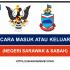 CARA MASUK ATAU KELUAR NEGERI SARAWAK & SABAH (TERKINI & SEMASA PKPB/PPN)