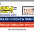 DAFTAR,LOGIN & RENEW SSM SECARA ONLINE